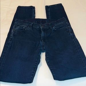 7 for all mankind Roxanne skinny jeans sz 29
